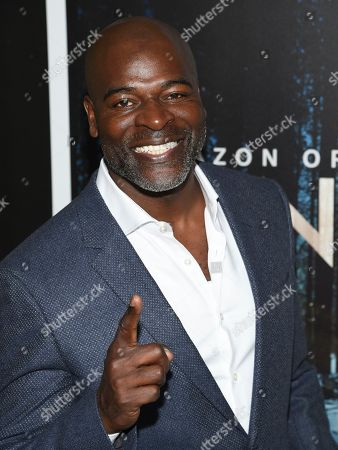 "Hisham Tawfiq attends the premiere of Amazon Prime Video's ""Hannah"" at The Whitby Hotel, in New York"