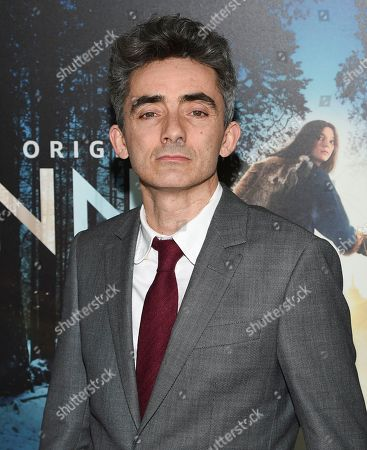 """David Farr attends the premiere of Amazon Prime Video's """"Hannah"""" at The Whitby Hotel, in New York"""
