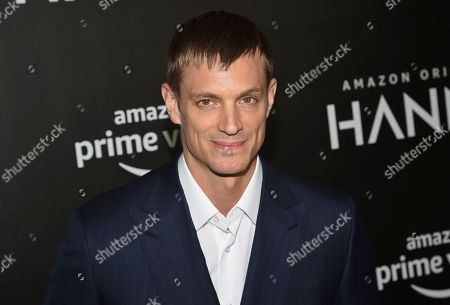 """Joel Kinnaman attends the premiere of Amazon Prime Video's """"Hannah"""" at The Whitby Hotel, in New York"""