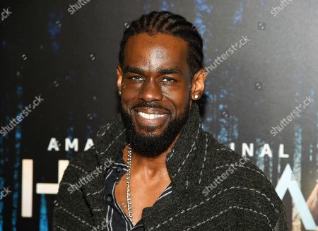 """Mustafa Shakir attends the premiere of Amazon Prime Video's """"Hannah"""" at The Whitby Hotel, in New York"""