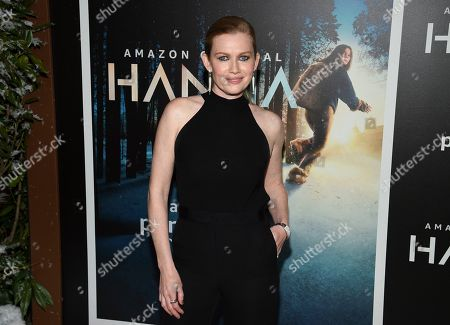 """Mireille Enos attends the premiere of Amazon Prime Video's """"Hannah"""" at The Whitby Hotel, in New York"""