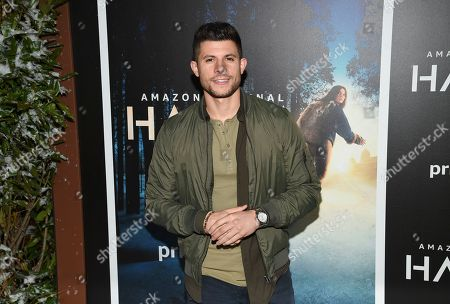 """Actor Nick Barrota attends the premiere of Amazon Prime Video's """"Hannah"""" at The Whitby Hotel, in New York"""