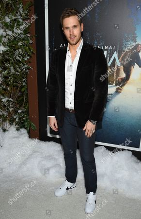 "Stock Photo of Dan Amboyer attends the premiere of Amazon Prime Video's ""Hannah"" at The Whitby Hotel, in New York"