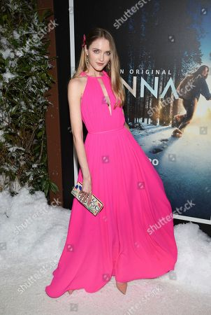"""Vlada Roslyakova attends the premiere of Amazon Prime Video's """"Hannah"""" at The Whitby Hotel, in New York"""