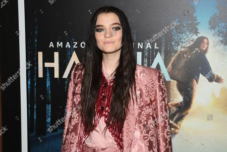 """Esme Creed-Miles attends the premiere of Amazon Prime Video's """"Hannah"""" at The Whitby Hotel, in New York"""