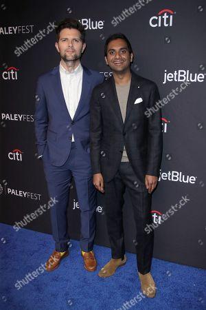 Adam Scott and Aziz Ansari