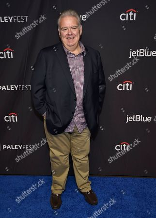 """Jim O'Heir arrives at the """"Parks and Recreation"""" 10th anniversary reunion during the 36th annual PaleyFest, at the Dolby Theatre in Los Angeles"""