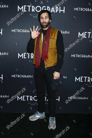 Editorial picture of Metrograph 3rd Anniversary Party and Launch of Metrograph Pictures, Arrivals, New York, USA - 21 Mar 2019