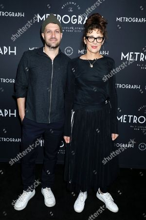Damon Cardasis and Rebecca Miller