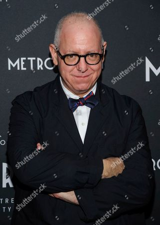 James Schamus attends the third anniversary party for Metrograph and launch of Metrograph Pictures, in New York