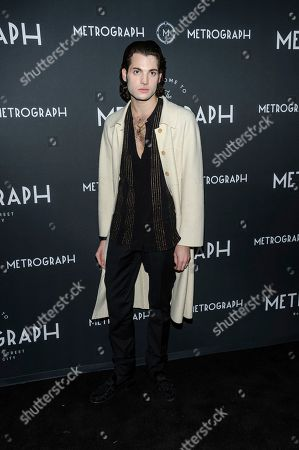 Peter Brant Jr. attends the third anniversary party for Metrograph and launch of Metrograph Pictures, in New York