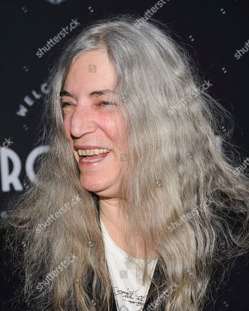 Patty Smith attends the third anniversary party for Metrograph and launch of Metrograph Pictures, in New York