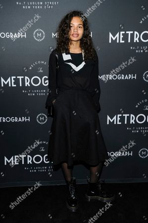 Helena Howard attends the third anniversary party for Metrograph and launch of Metrograph Pictures, in New York