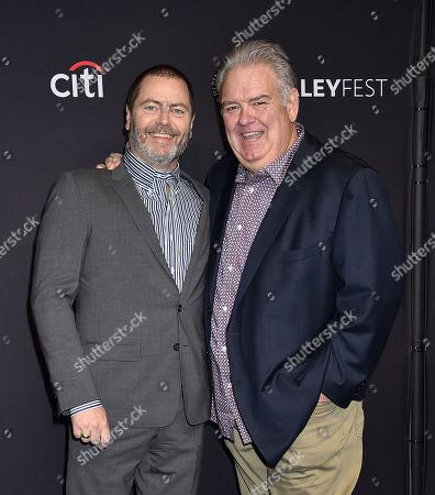 Nick Offerman and Jim O'Heir