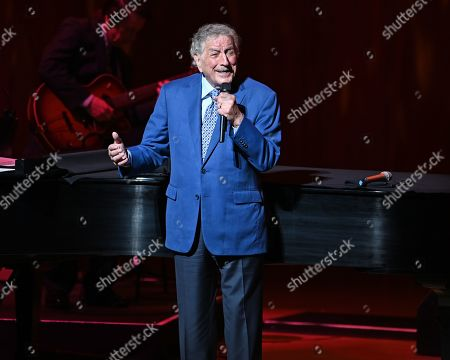 Editorial picture of Antonia Bennett in concert at The Adrienne Arsht Center, Miami, USA - 21 Mar 2019