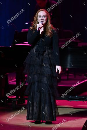 Editorial photo of Antonia Bennett in concert at The Adrienne Arsht Center, Miami, USA - 21 Mar 2019