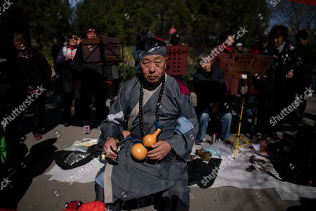 Editorial photo of Daily life in Beijing, China - 22 Mar 2019