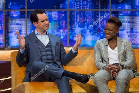 Jimmy Carr and Nicola Adams