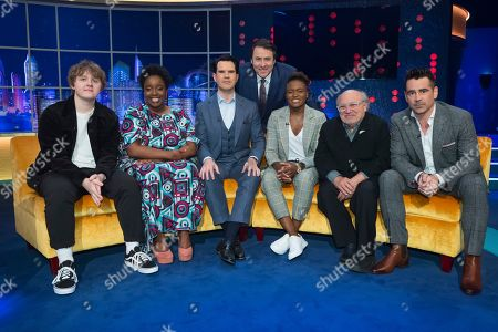 Lewis Capaldi, Lolly Adefope, Jimmy Carr, Jonathan Ross, Nicola Adams, Danny DeVito and Colin Farrell