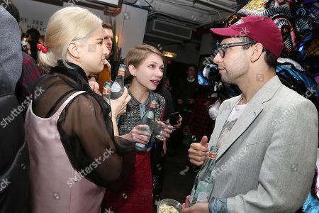 Tavi Gevinson, Rachel Antonoff and Jack Antonoff
