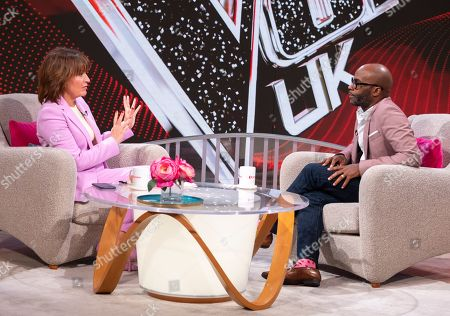 Lorraine Kelly and Cedric Neal