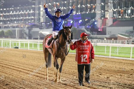 Editorial image of Dubai World Cup, Horse Racing, Meydan Racecourse, Dubai, United Arab Emirates - 30 Mar 2019