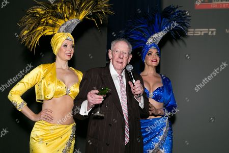 Stock Image of Oscar Goodman and Showgirls