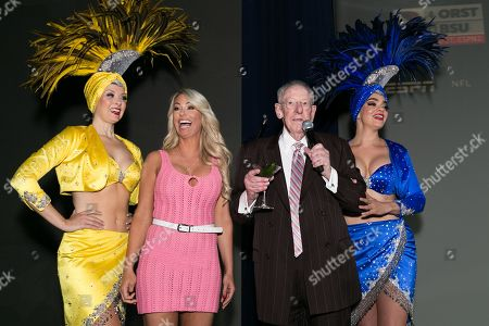 Stock Image of Elle Johnson, Oscar Goodman and Showgirls