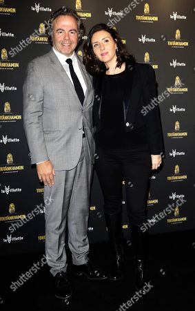 Luc Chatel and his wife