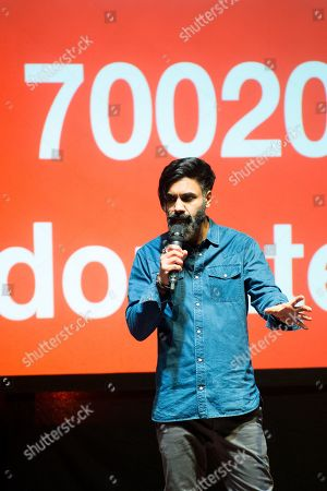 Stock Picture of Paul Chowdhry