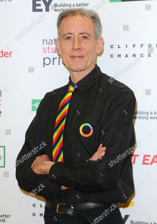 Peter Tatchell seen during the National Student Pride, an annual event for students and graduates at University Of Westminster, Marylebone Road.