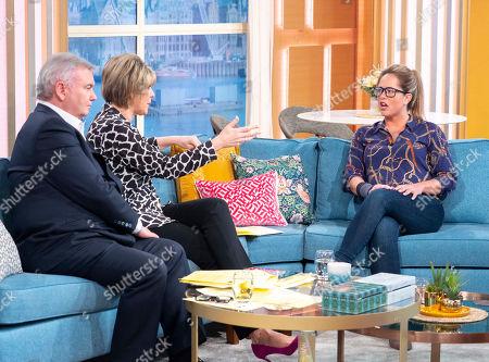 Eamonn Holmes and Ruth Langsford with Karen Danczuk