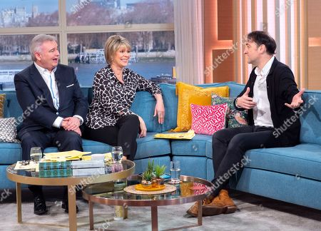 Stock Picture of Eamonn Holmes and Ruth Langsford with Alistair McGowan