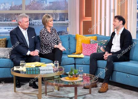 Eamonn Holmes and Ruth Langsford with Alistair McGowan