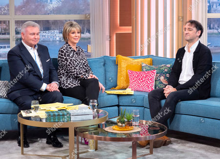 Stock Image of Eamonn Holmes and Ruth Langsford with Alistair McGowan