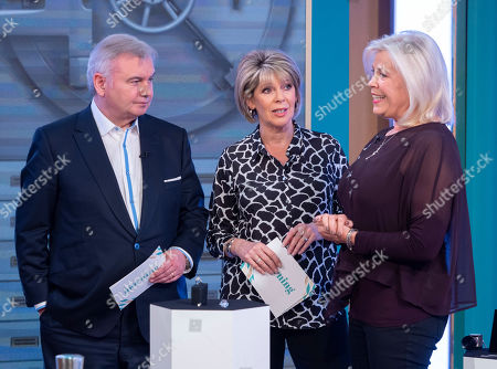 Stock Photo of Eamonn Holmes and Ruth Langsford with Laurie Wickwire