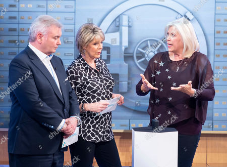 Eamonn Holmes and Ruth Langsford with Laurie Wickwire