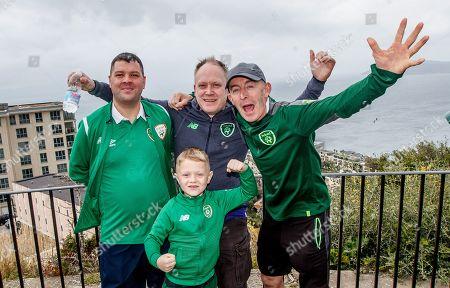 Carl Breen, Wayne O'Sullivan, George Downer and Bobby O'Sullivan from Ballybrack