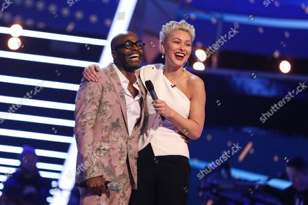The Knockouts: Team Tom: Cedric Neal performs. With Emma Willis