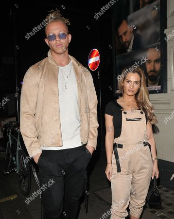 Chris Jammer and Nicole Bass
