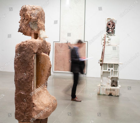 Editorial image of Huma Bhabha: They Live' exhibition at the Institute of Contemporary Art in Boston, USA - 22 Mar 2019
