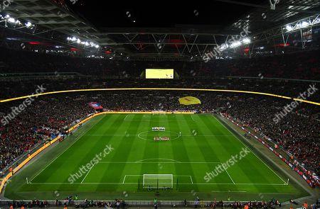 Editorial image of England v Czech Republic, UEFA Euro 2020 Qualifying Group A, Football, Wembley Stadium, London, UK - 22 Mar 2019
