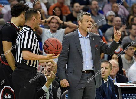Editorial image of NCAA Gardner-Webb Virginia Basketball, Columbia, USA - 22 Mar 2019