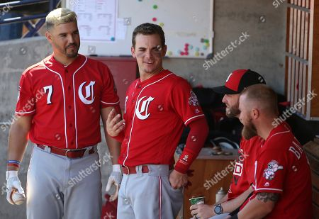 Editorial photo of Reds Brewers Spring Baseball, Phoenix, USA - 22 Mar 2019
