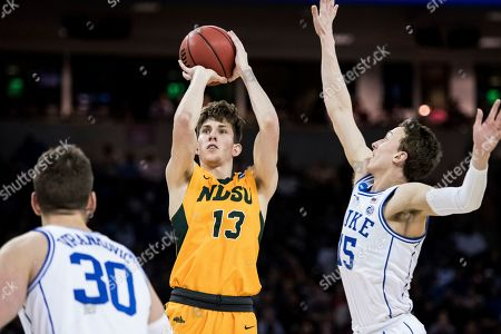 Editorial image of NCAA N Dakota St Duke Basketball, Columbia, USA - 22 Mar 2019