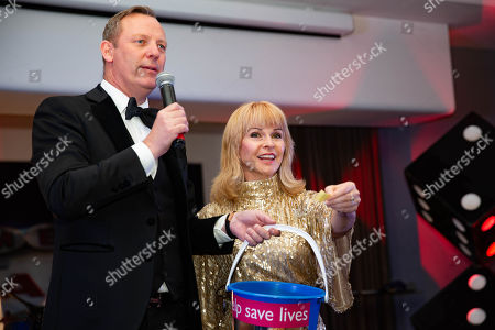 Toyah Willcox with Magician Paul Martin.