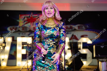 Stock Picture of Toyah Willcox.