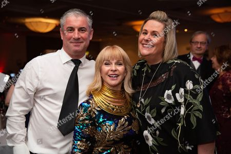 Toyah Willcox with guests.