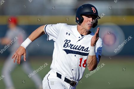Belmont's Grayson Taylor runs for home on a hit during an NCAA college baseball game against Southern Illinois, in Nashville, Tenn