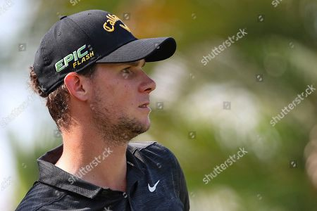 Thomas Pieters of Belgium in action during round three of the Malaysia Maybank Golf Championship in Kuala Lumpur, Malaysia, 23 March 2019.